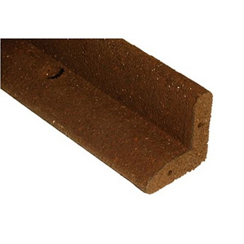 Brown L Shaped Landscape Edging (6-Pack)