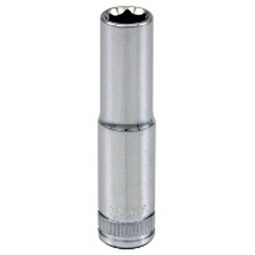 Husky Douille, entrainement 1/4 pouce, 8 mm, 6 points, profonde, métrique