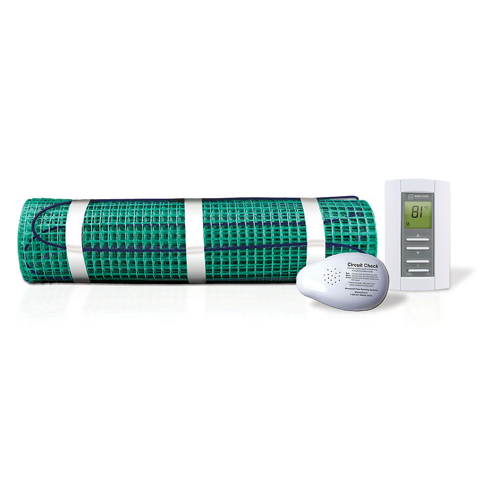 WarmlyYours Tempzone Kit with EasyStat, 45 Sq Ft - 120V