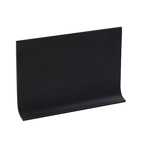 Rubber mur Plinthe  - Rouleau de 100 Pied - Noire