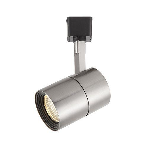 Projecteur del sur rail en nickel brossé à intensité variable- ENERGY STAR®