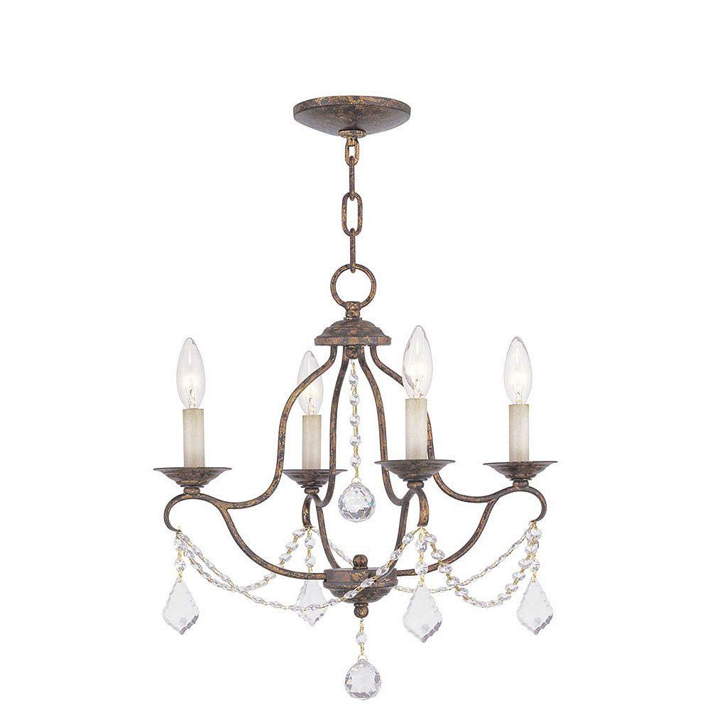 Illumine lumière accrochante avec style couleur en bronze