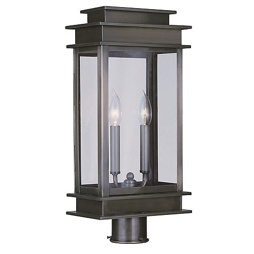 pilier monture lumière avec abat-jour clair finition de spécialité