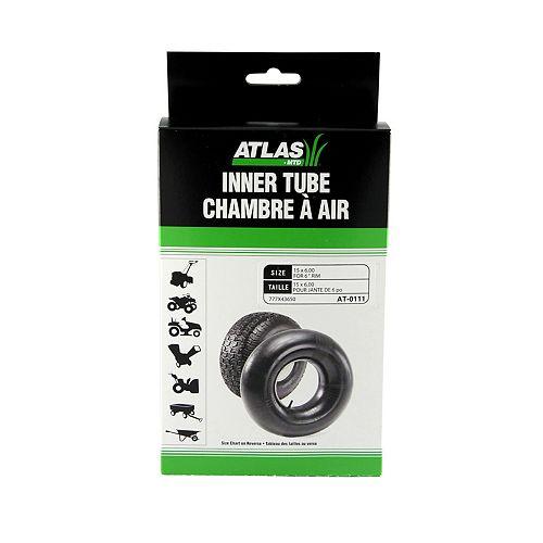 Inner Tube for Tire Sizes 15 x 6-6