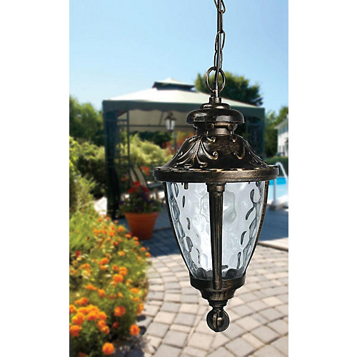 Brella Single Outdoor Sun Shelter Light in Bronze
