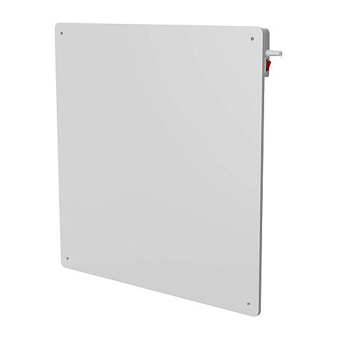 Ceramic 400W Wall-Mounted Panel Heater With Built in Thermostat