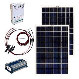 200-Watt Off-Grid Solar Panel Kit