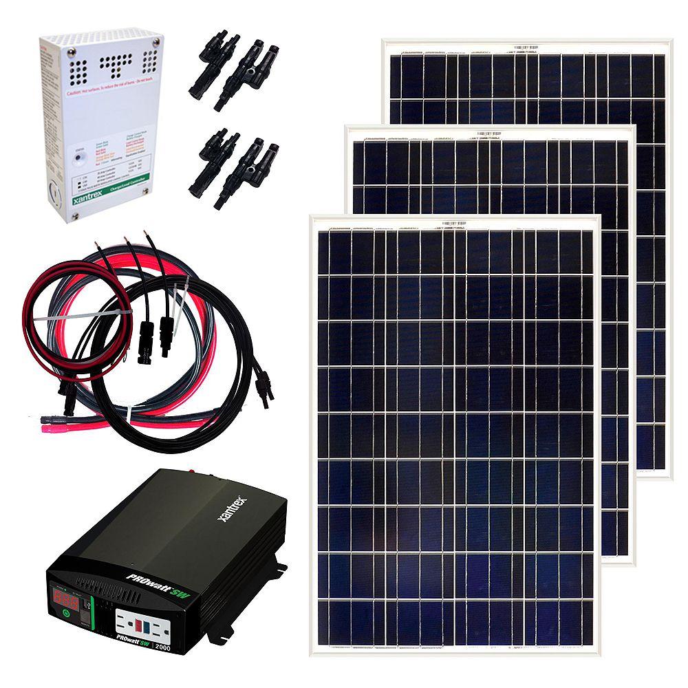 Grape Solar 300-Watt Off-Grid Solar Panel Kit
