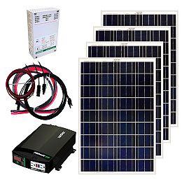 400W Off-Grid Solar Panel Kit