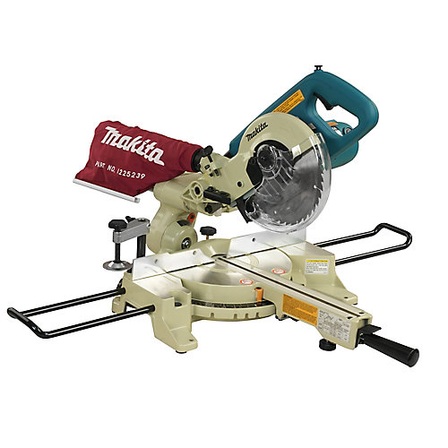 7.5-inch 10 amp Double Bevel Sliding Compound Mitre Saw