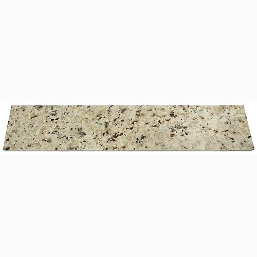 20 Inch Giallo Ornamental Granite Sidesplash