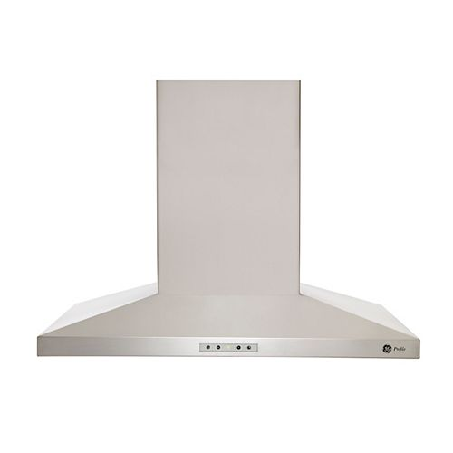 GE 30-inch Wall Mount Range Hood in Stainless Steel