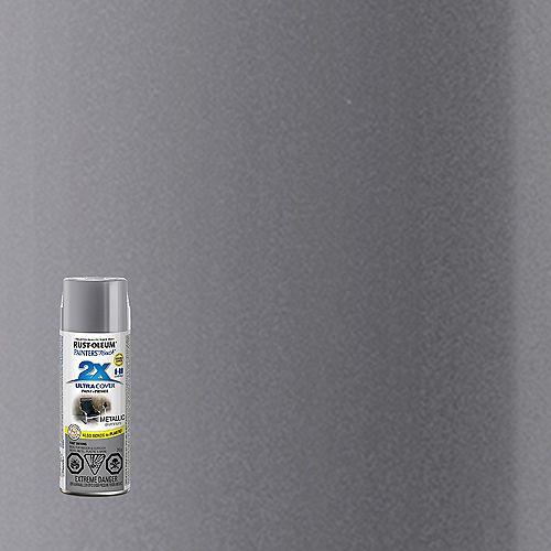 Ultra Cover Multi-Purpose Paint And Primer in Metallic Aluminum, 340 G Aerosol Spray Paint