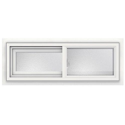 SÉRIE 3500 Coulissante en vinyle 36 po x 12 po - Faible émissivité - obscure - ENERGY STAR®