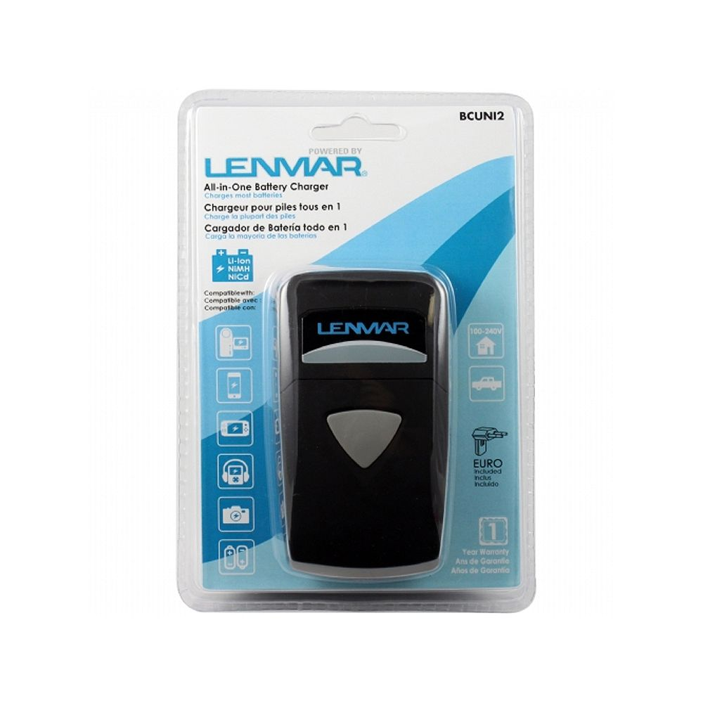 Lenmar ACDC Charger w LED Indicator