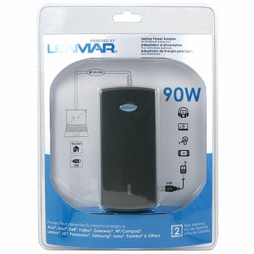 Adaptateur secteur pour ordinateur portable 90W avec port USB