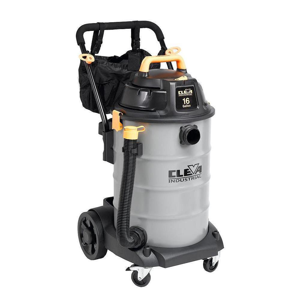 Dura Vac 60L / 16 US Gallon 2 Stage Industrial Wet Dry Vacuum 2.5 inches Hose