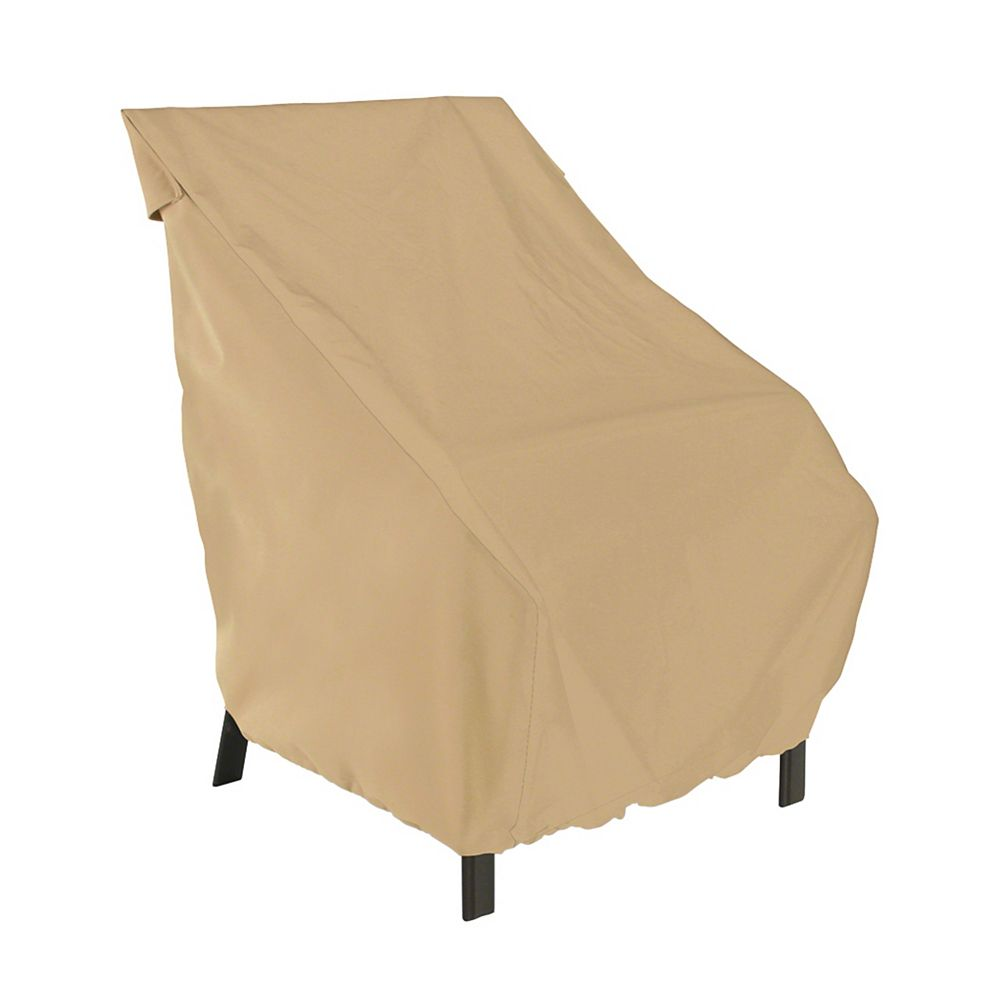 Classic Accessories Terrazzo Patio Chair Cover, High Back
