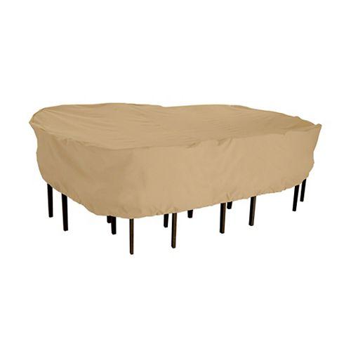 Terrazzo Patio Table & Chair Set Rectangular / Oval Medium Cover