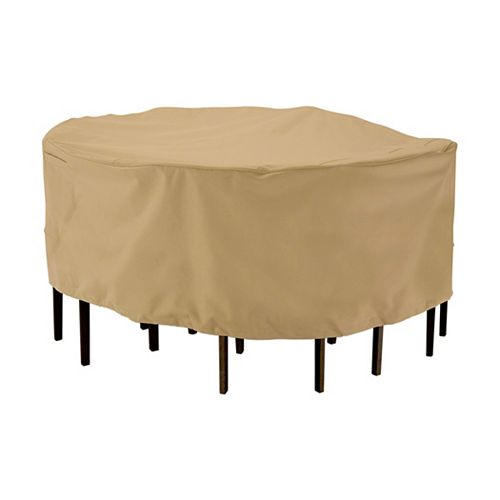 Classic Accessories Terrazzo Patio Table & Chair Set Cover, Large, Medium