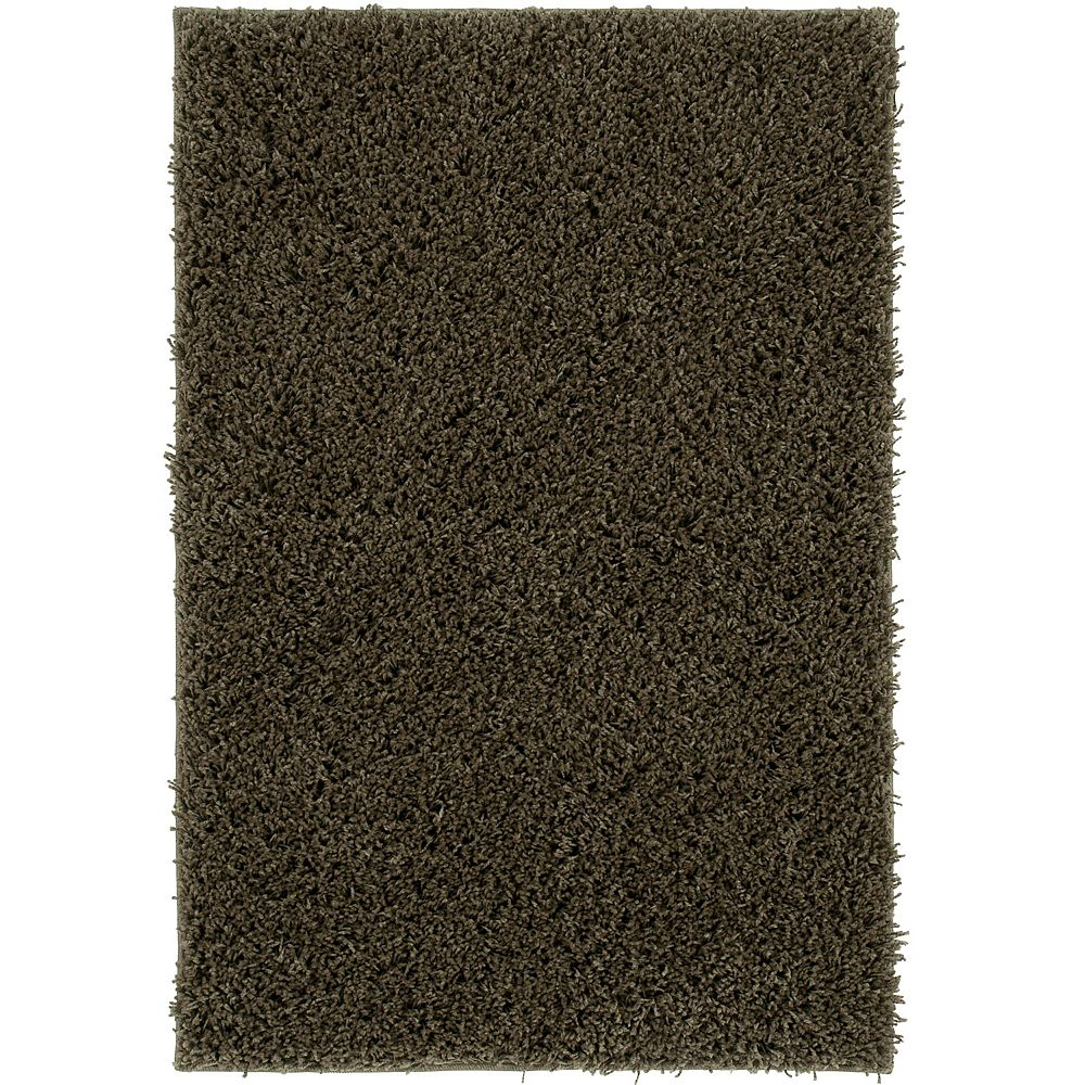 Shaw Living Take Two Green 2 ft. 6-inch x 3 ft. 10-inch Rectangular Accent Rug