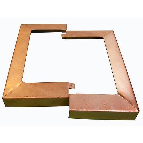 Couvercle de poteau (4 po x 4 po)