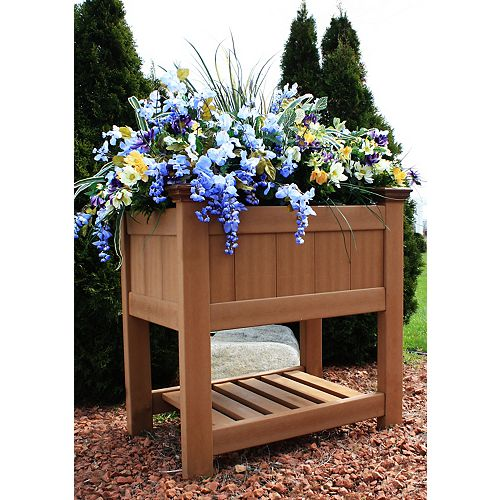 Boîte à jardinage surélevée en composite Bloomsbury