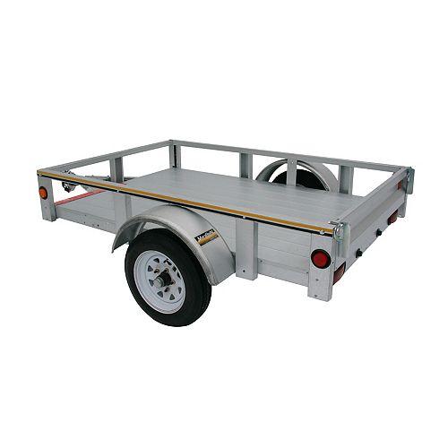 4' x 6' Galvanized Steel Utility Trailer