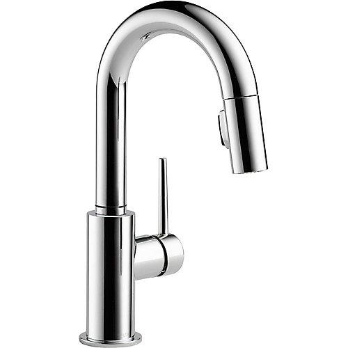 Trinsic Single Handle Pull-Down Bar Faucet, Chrome