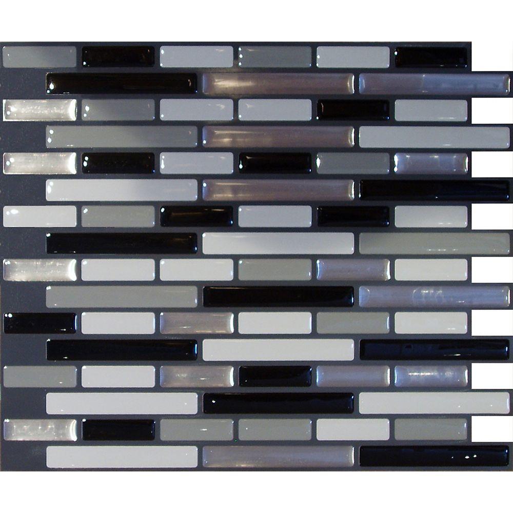 Stick-It Tiles Urban Oblong Peel and Stick-It tile 11X9.25 Bulk Pack (8 Tiles)