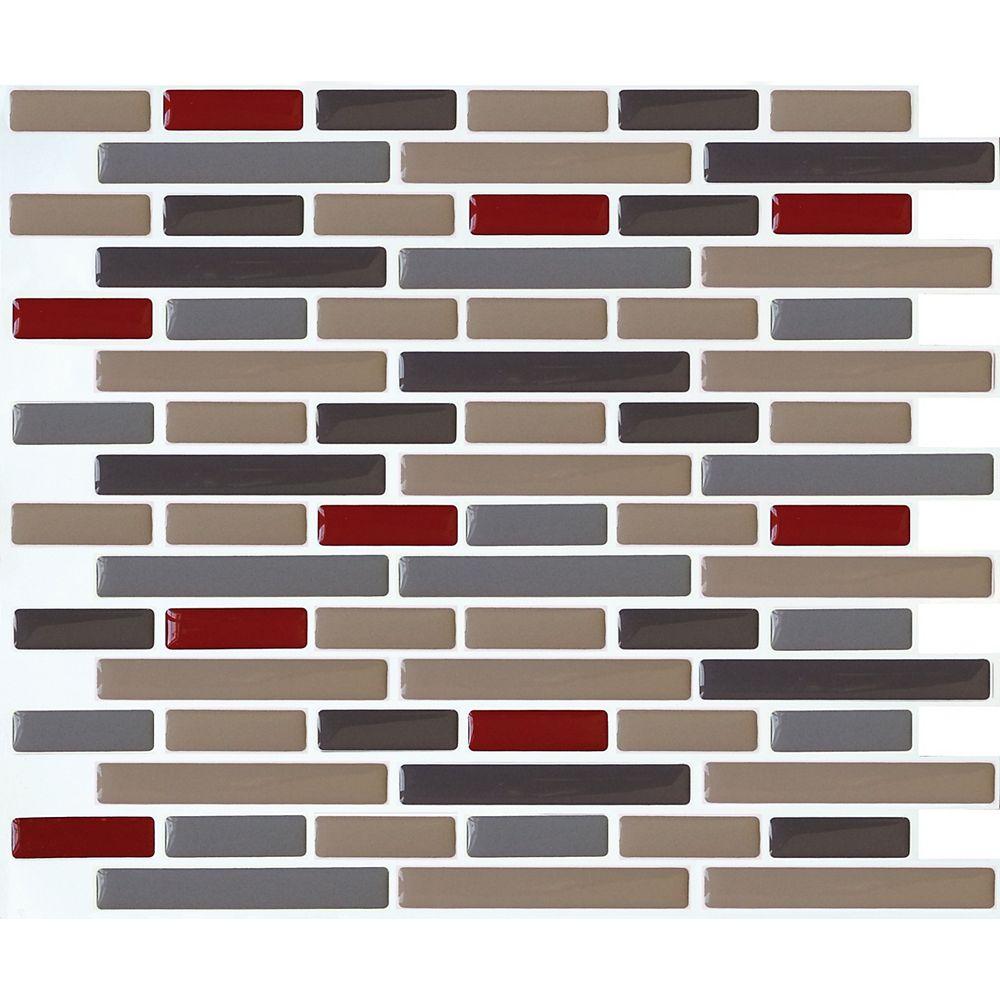 Stick-It Tiles Taupe+ Oblong Stick-It tile 11 x 9.25 Single Pack