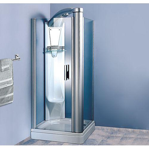 Atlas 36-Inch  x 36-Inch  Shower Stall