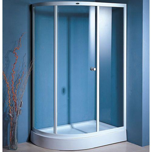 Gallileo - Sliding Shower Door and Base - Right Hand Drain