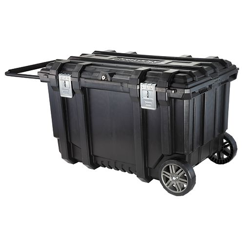 Husky 37-inch Rolling Tool Box Utility Cart Black