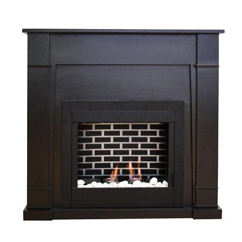 Wilson Gel Fuel Fireplace in Espresso
