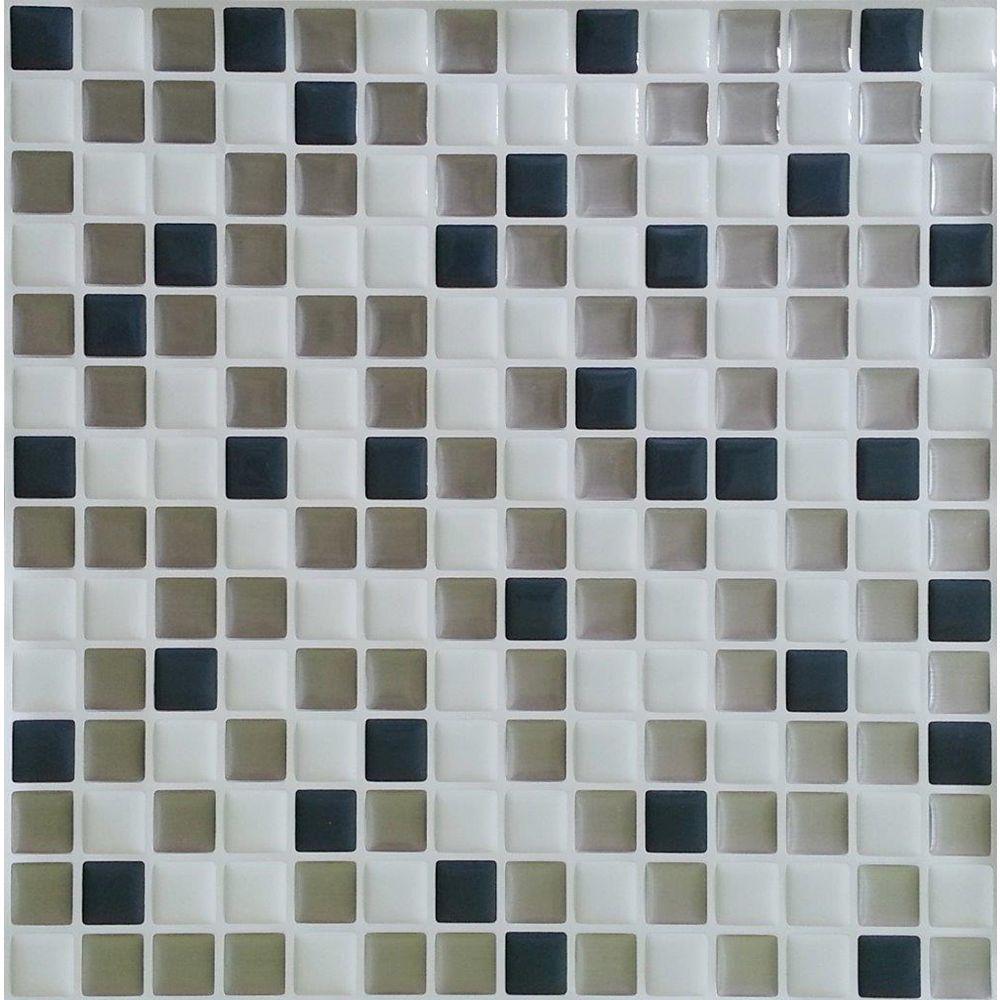 Stick-It Tiles Steel Mini Stick-It tile 10X10 (8-Pack)