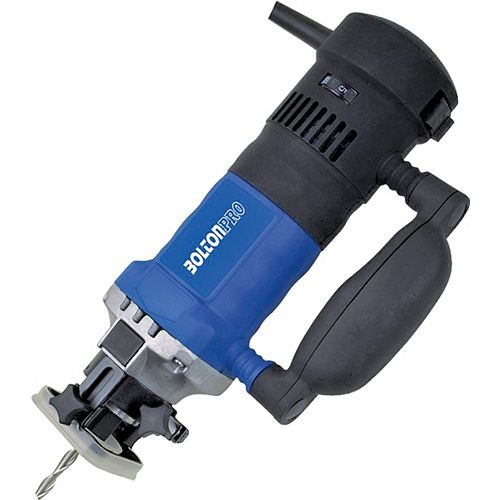 4 Amp Spiral Saw with Accessories Kit