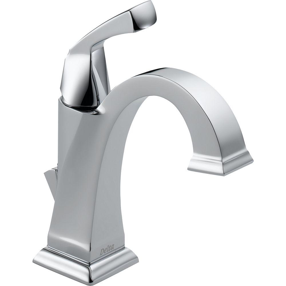 delta dryden single hole 1-handle high arc bathroom faucet