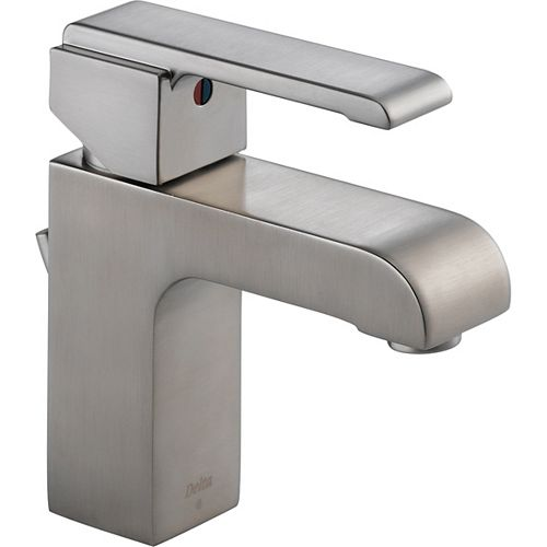Delta Arzo Mitigeur de lavabo à jeu central, Inox