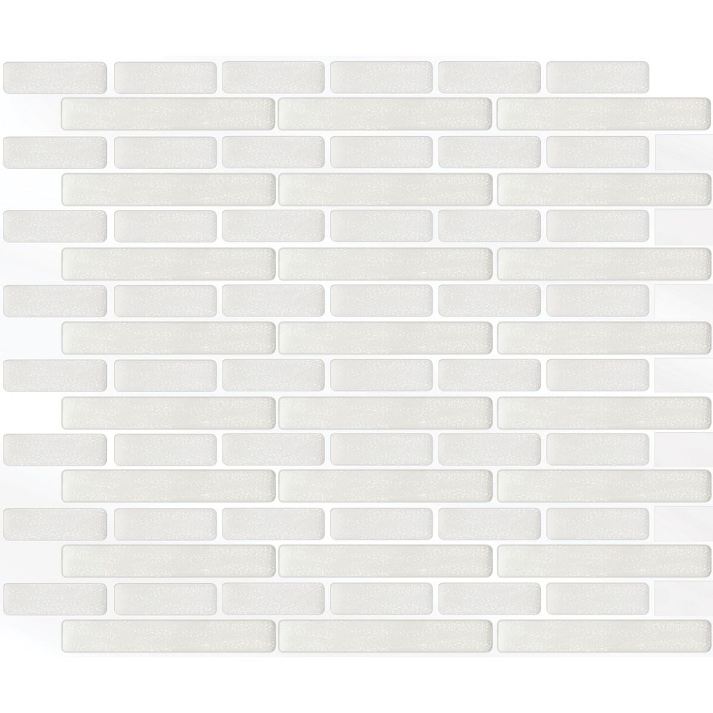 Stick-It Tiles Tuile Oblong Blanc Stick-It 11.25X10 (1 Feuille)