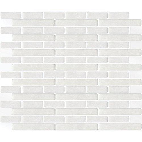 Tuile Oblong Blanc Stick-It 11.25X10 En Gros (8 Tuiles)