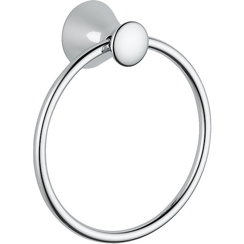 Lahara Towel Ring in Chrome