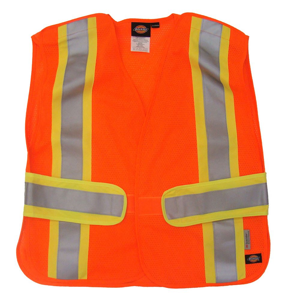 Dickies D91015 Hi-Vis 5-Point Tear Away Vest - L/XL