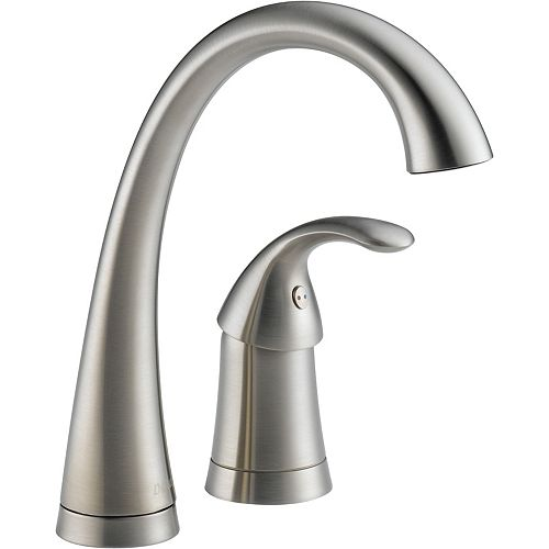 Pilar Single-Handle Bar Faucet in Stainless