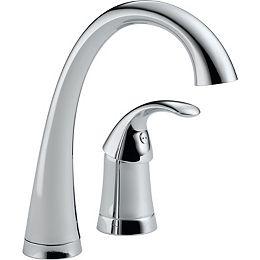 Pilar Single-Handle Bar Faucet in Chrome