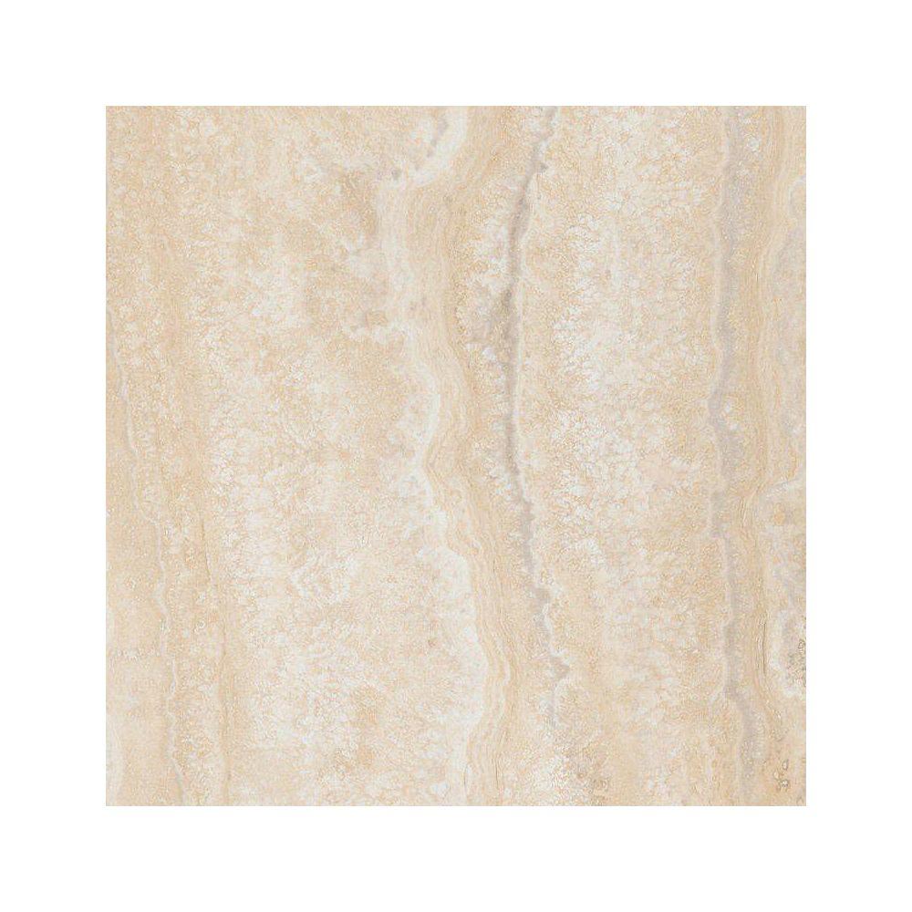 Allure Locking Aegean Travertine Natural 12-inch x 23.82-inch Luxury Vinyl Tile Flooring (19.8 sq. ft./Case)