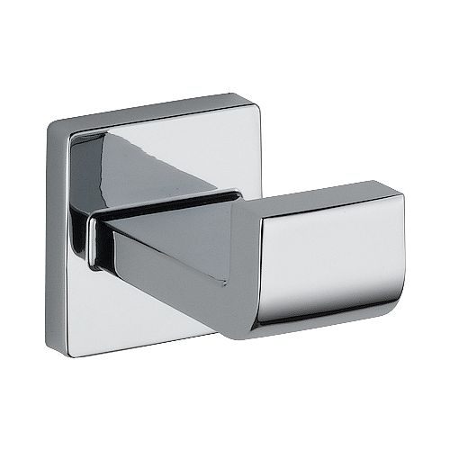 Arzo Single Robe Hook in Chrome