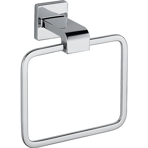 Arzo Towel Ring in Chrome