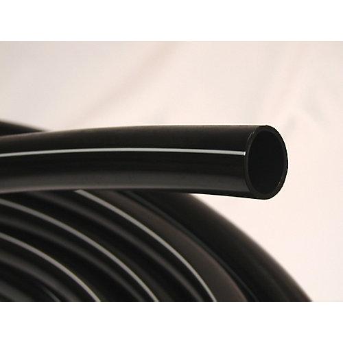 Poly Pipe 3/4 Inch X 400 Feet 75PSI White Stripe