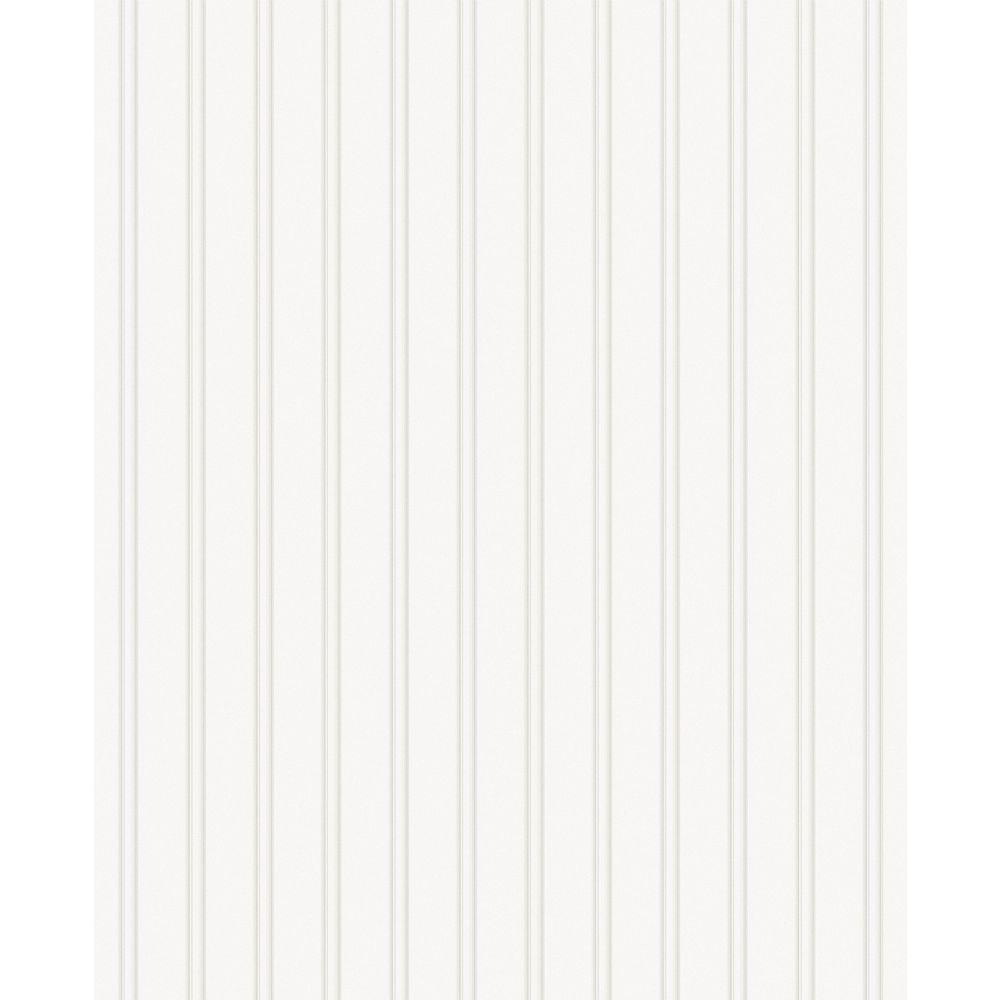 Wall Doctor Beadboard Paintable Wallpaper (prepasted) Sample